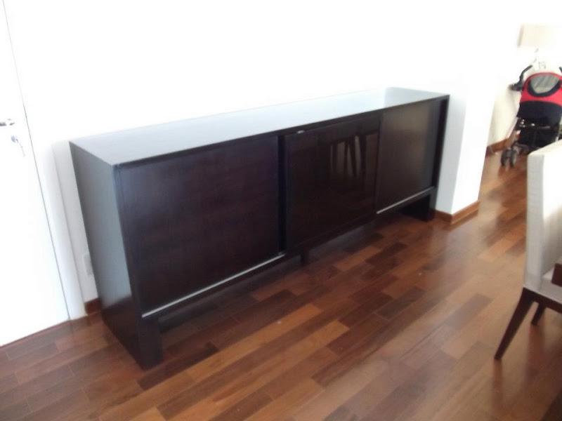 decoracao de interiores artesanal:Blog Decoração de Interiores: Buffet de Madeira para Sala de Jantar