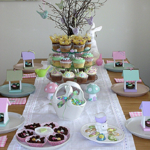 My Easter table 2009 by Torie Jayne