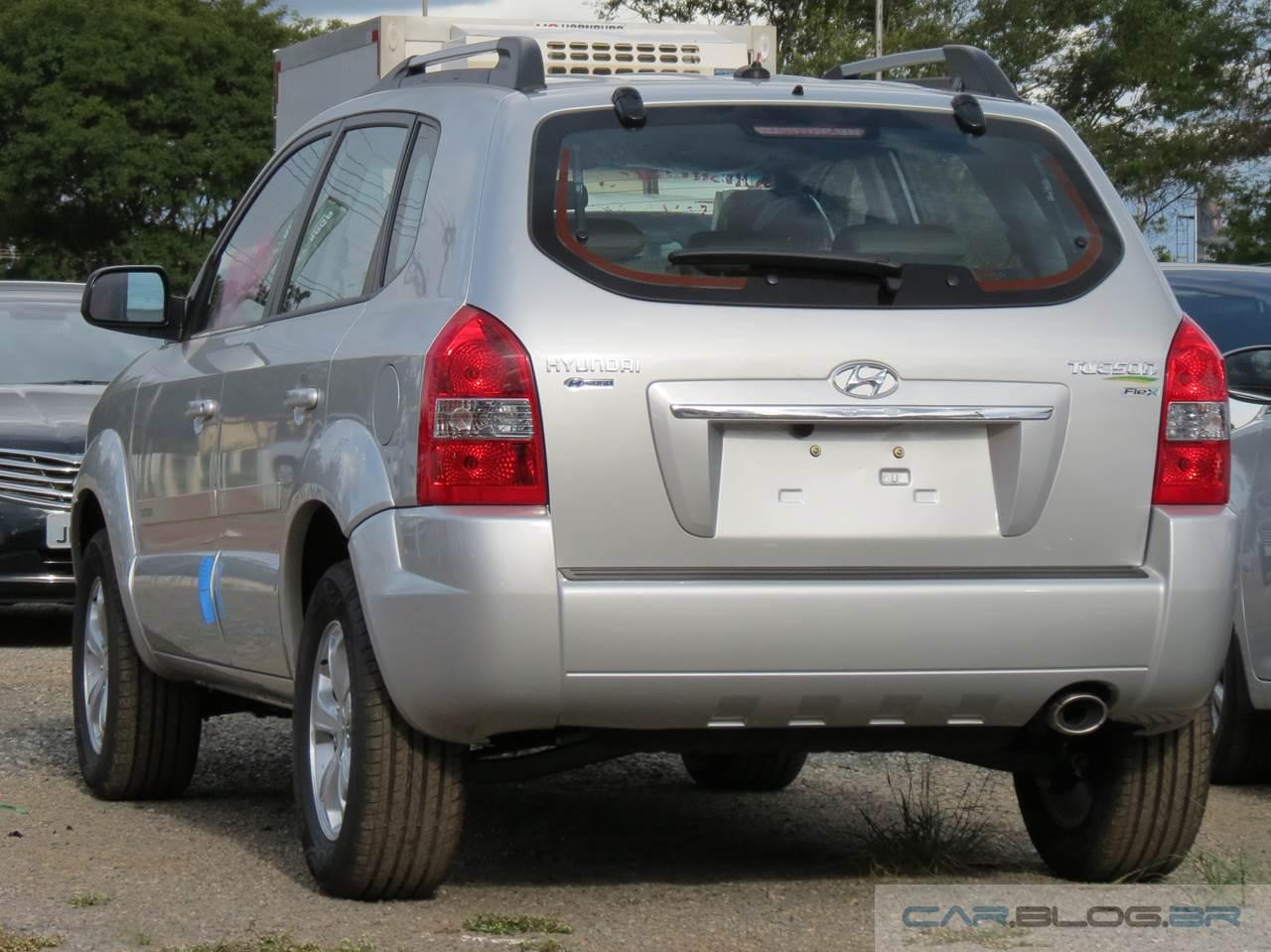 Hyundai Tucson 2016 2.0 Flex - Preço