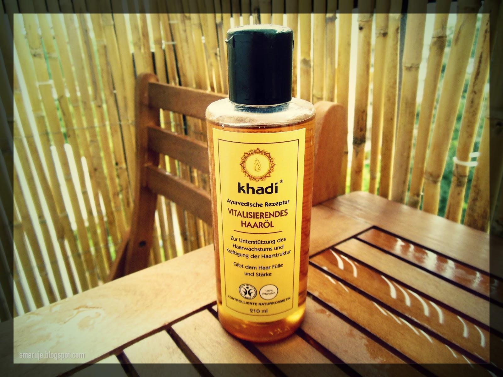 Khadi – Olejek stymulujący wzrost włosów –nie dla każdego