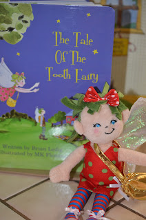 The Tale of the Tooth Fairy doll up close 3