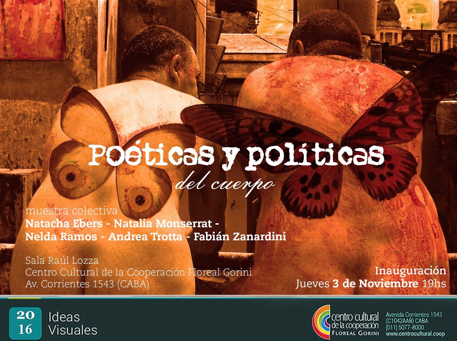 Poéticas y políticas del cuerpo