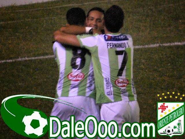 Oriente Petrolero - Rodrigo Vargas - Alejandro Meleán - Fernando Saucedo - DaleOoo.com web del Club Oriente Petrolero