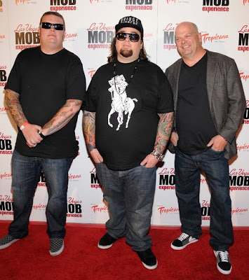 Corey Harrison With Austin Russell And Rick Harrison