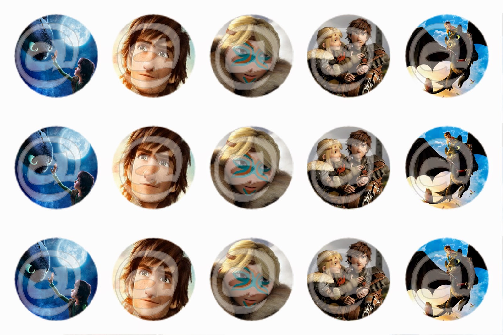 Unique bottle cap designs disney how to train your dragon for Cool bottle cap designs
