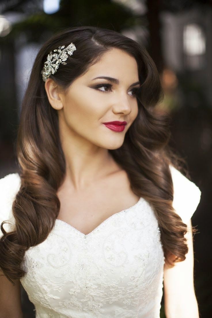 Indian Brides Hairstyles 2014 2015 Chal Abay