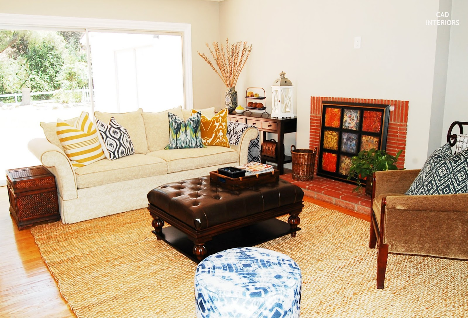 Jute Rug Living Room Cad Interiors Affordable Stylish Interiors