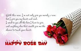 Happy Rose Day SMS