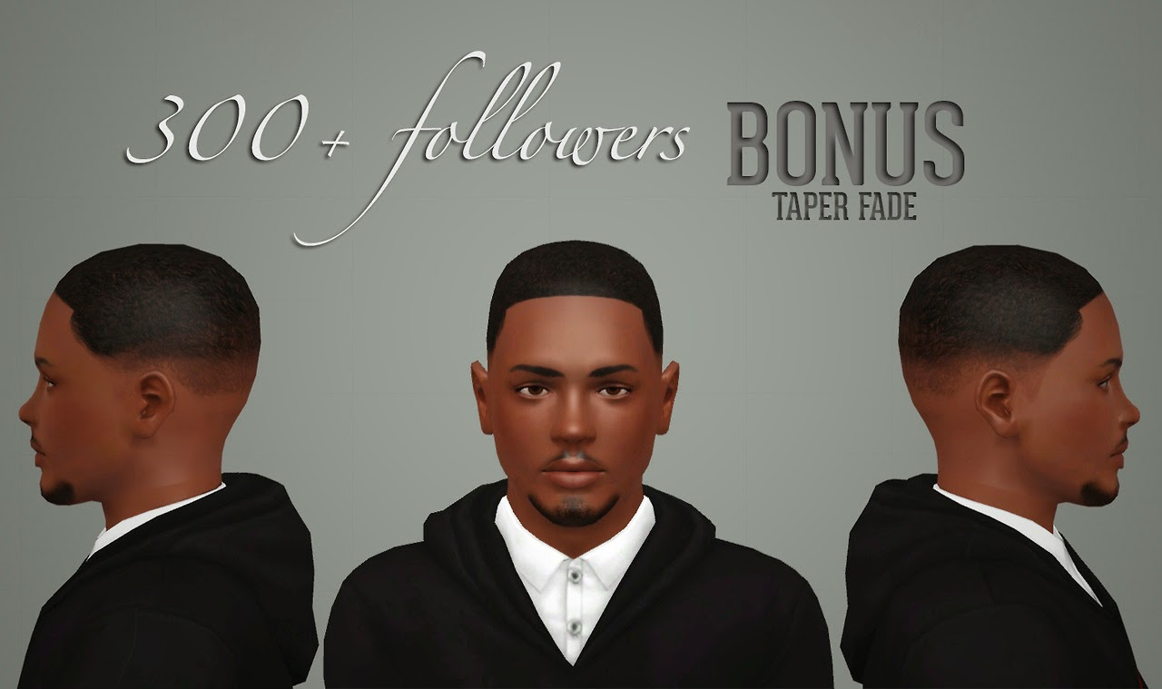 My Sims 3 Blog Taper Fade New Tops For Males By Infisim