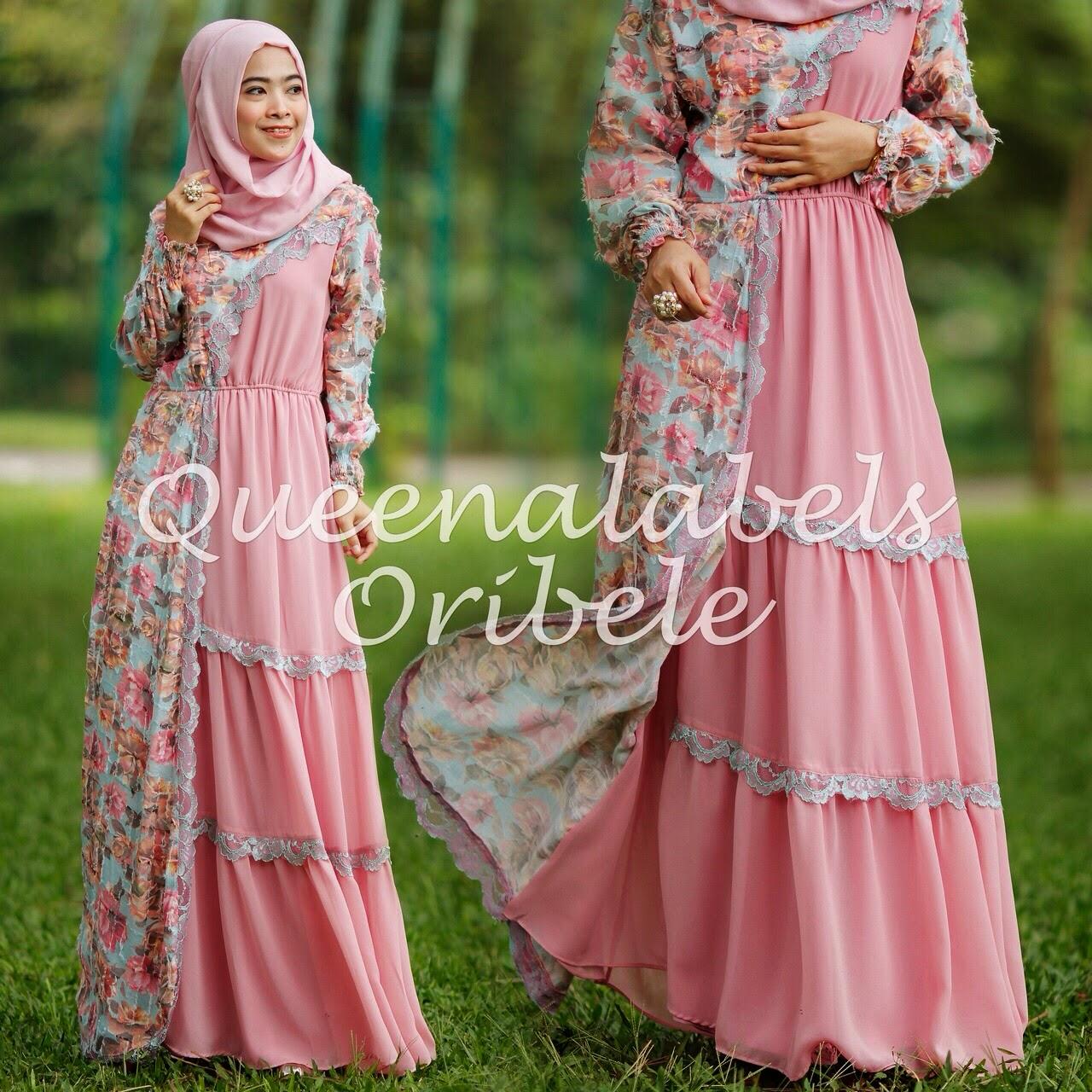 Baju Gamis Terbaru Ala Syahrini Oribele Dress By
