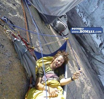 Bagaimana Pendaki Tebing Tidur | How Climber Sleep