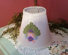 SHABBY COTTAGE CHIC LAMP SHADE