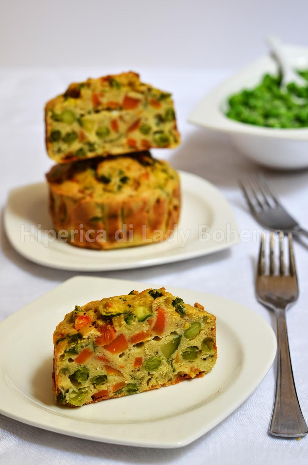 hiperica di lady boheme ricetta tortino di verdure al forno