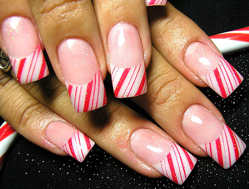 nail art gallery nail designs christmas
