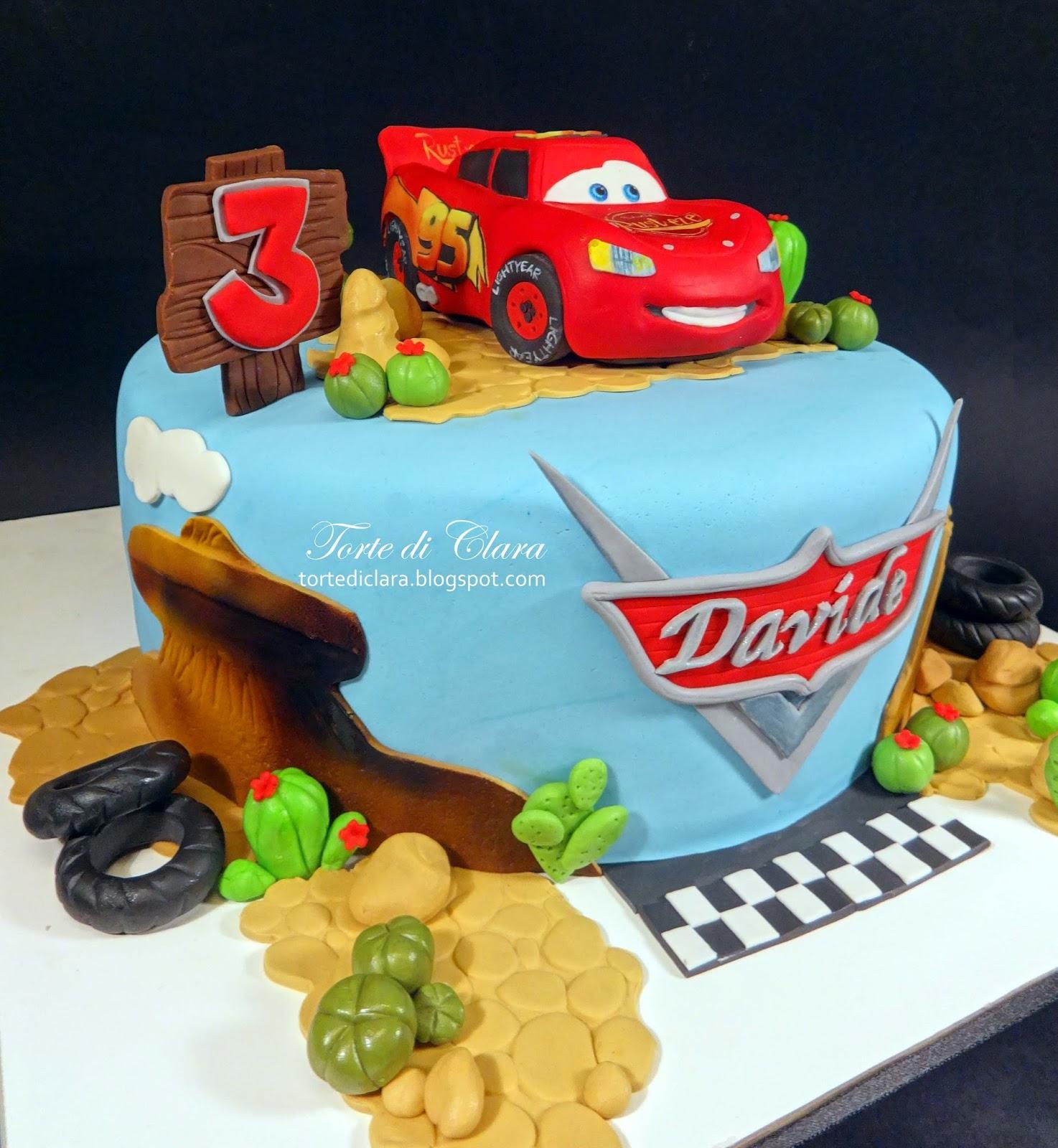 Torte Cake Design Cars : Torte di Clara: Cars cake (3)