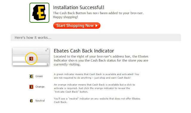 ebates browser button