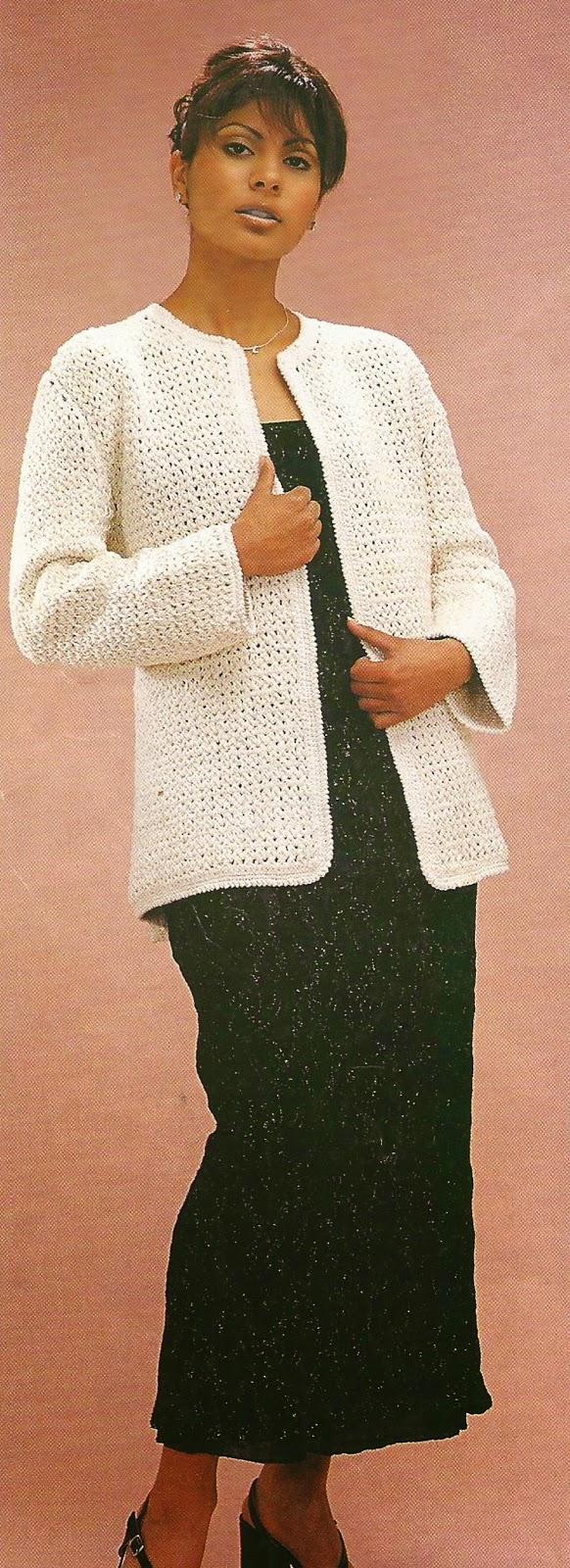 Chaqueta a Crochet