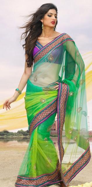 Latest fashion trend latest designer sarees fashion