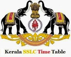 Kerala Board SSLC, 10th Class Time Table 2015 for Public Model Exam