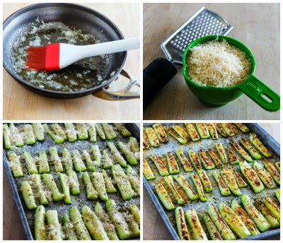 Kalyn's Kitchen®: Parmesan Encrusted Zucchini