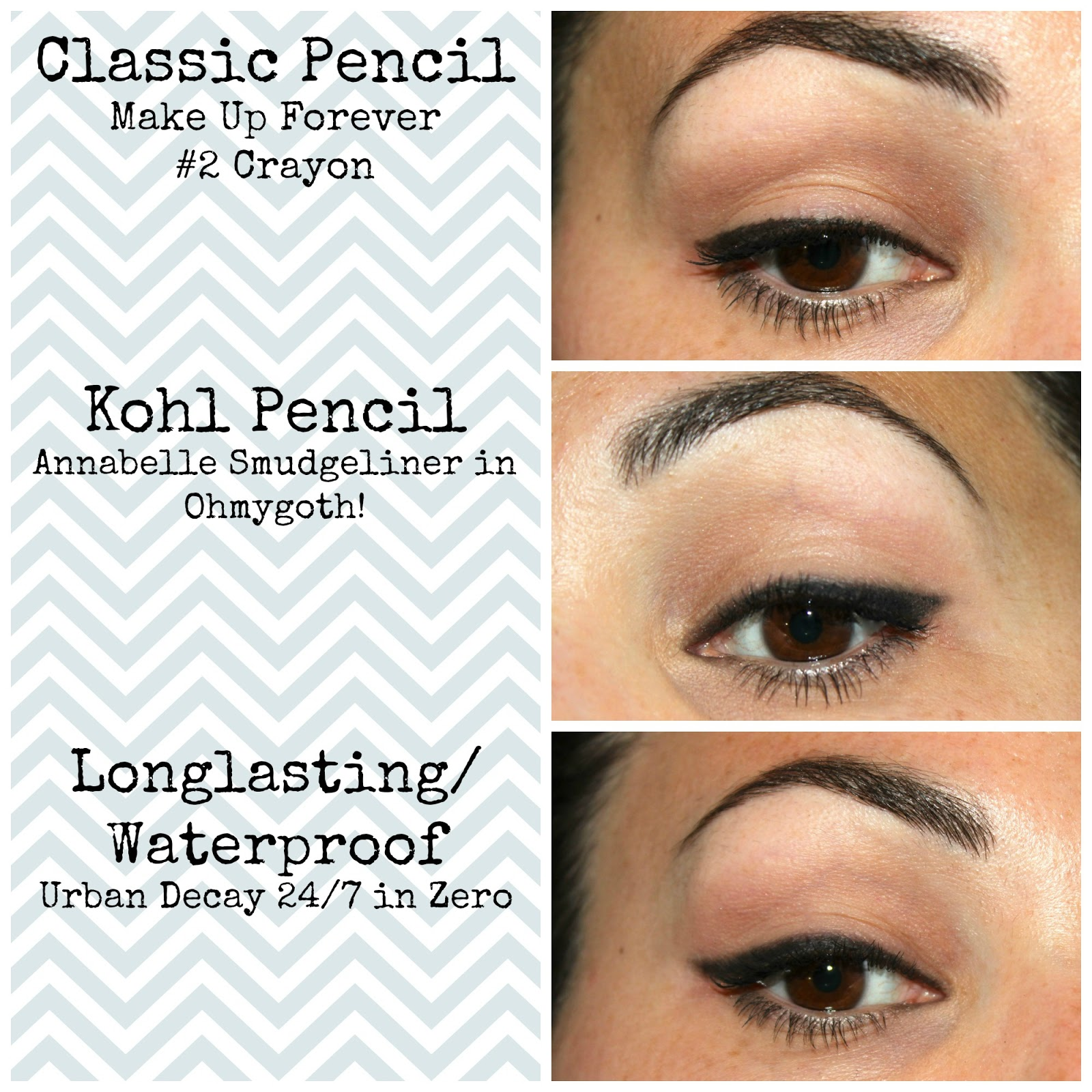 Eyeliner Mysteries Exposed: #1 Pencil | Loveng Beauty: