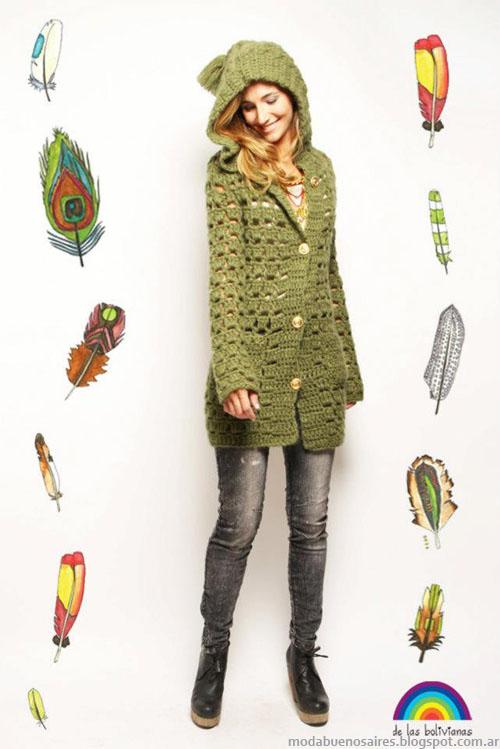 De Las Bolivianas Moda Tejidos Invierno 2013