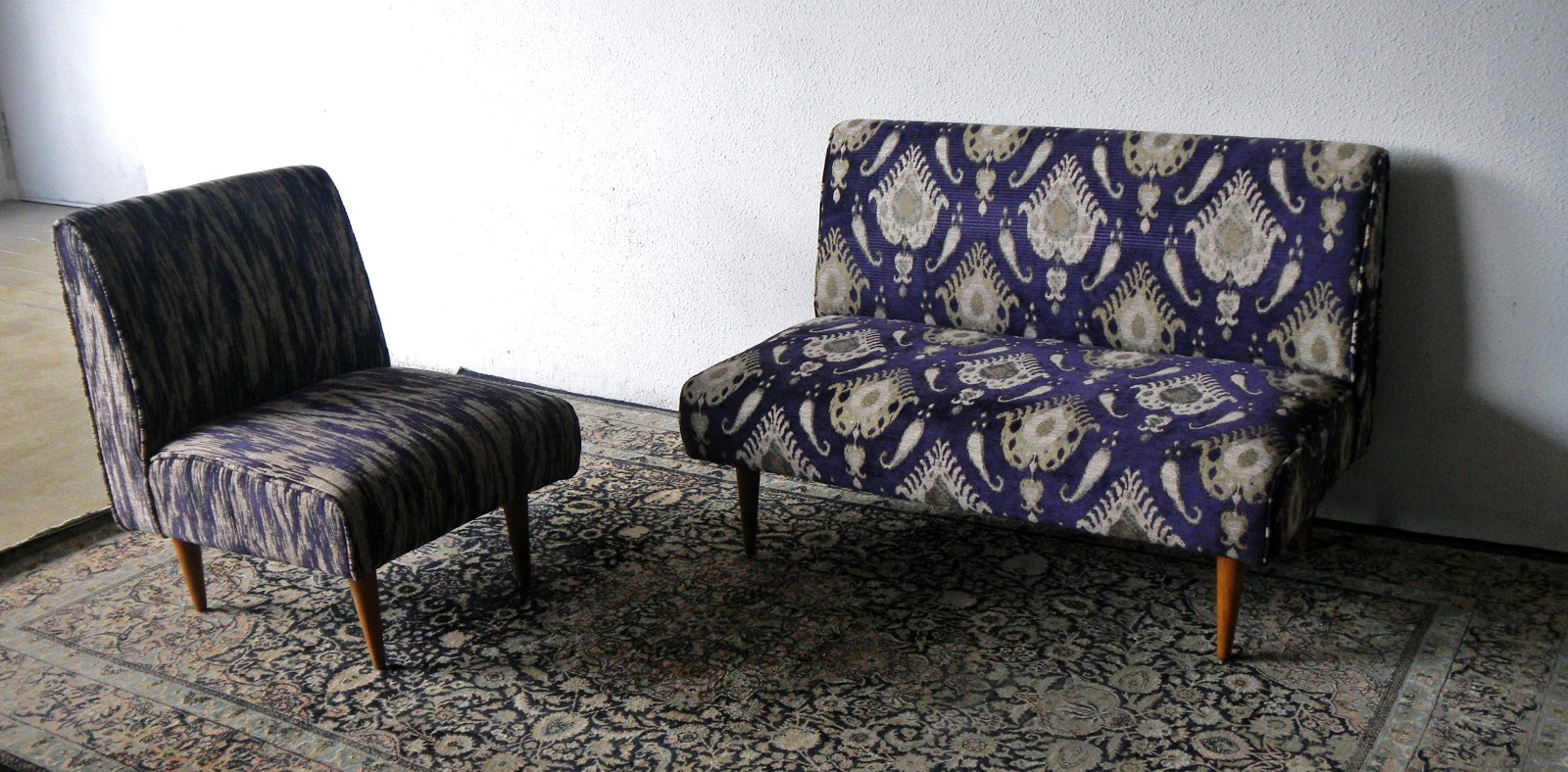 Second Charm Collections The Beauty Of Ikat And Silk Upholstery