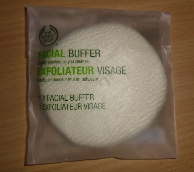 The Body Shop Facial Buffer & money off codes