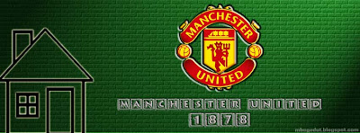 Manchester United Facebook Cover Green Brick