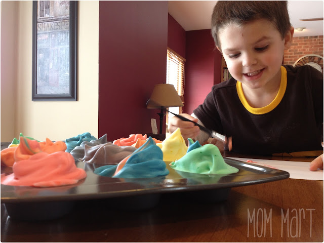Shaving Cream Paint Craft