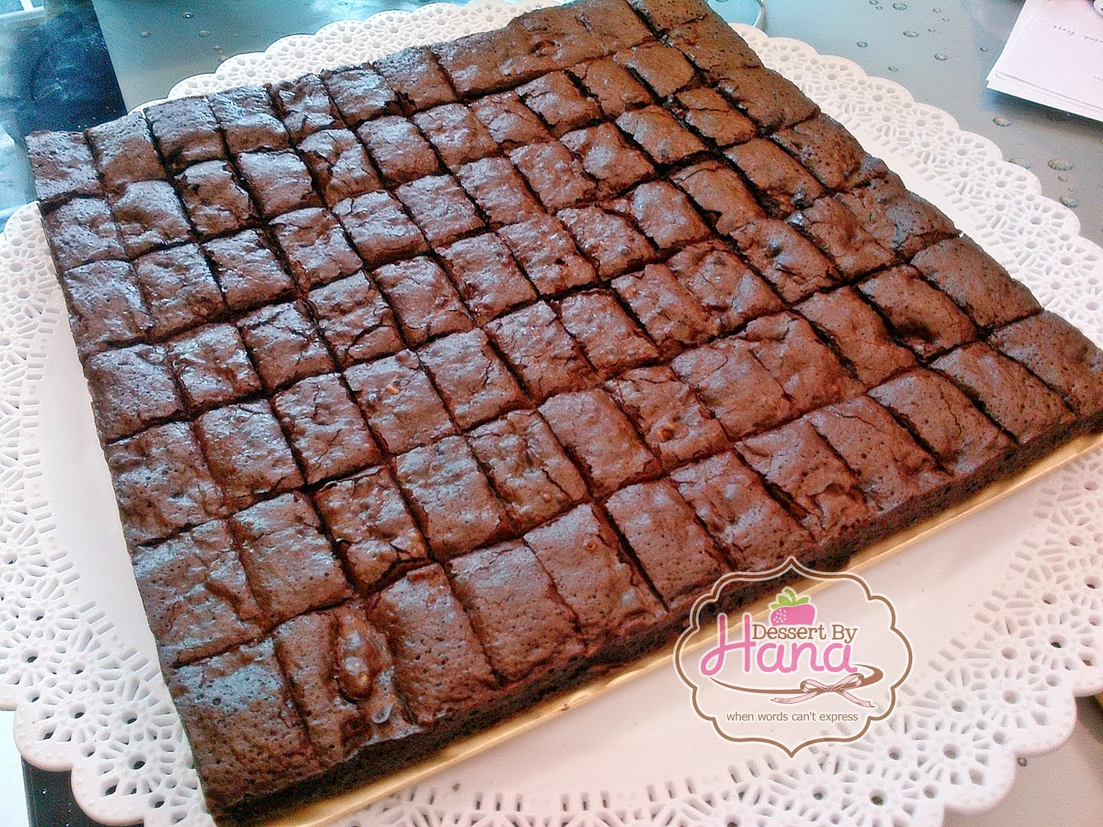 triple choc heaven brownies