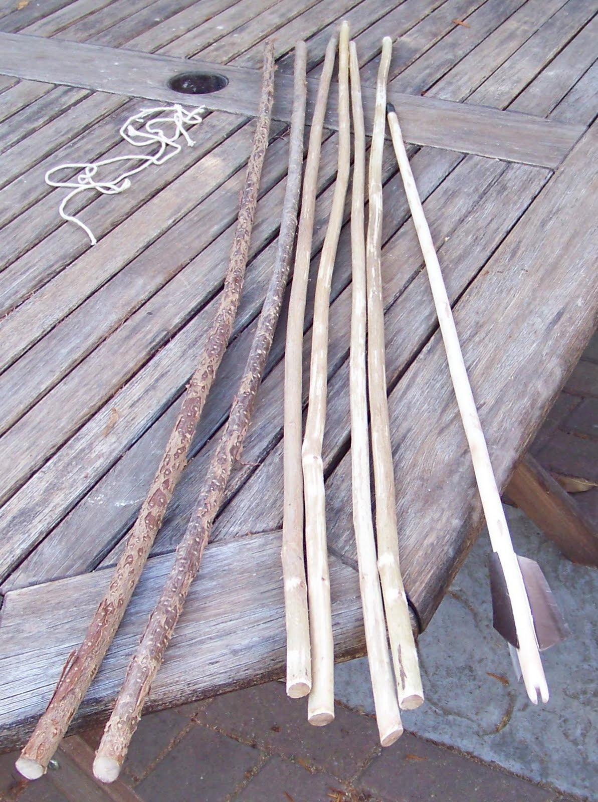how to make primitive arrows