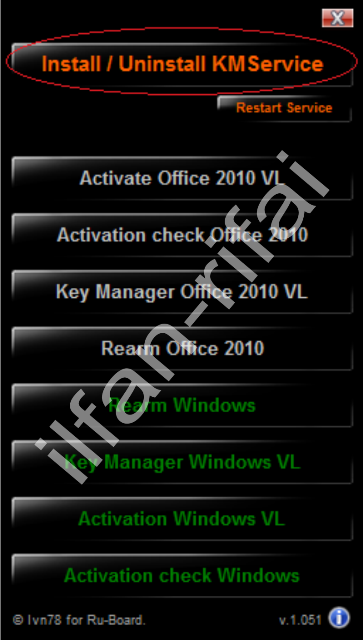 mini kms activator v1.051 exe