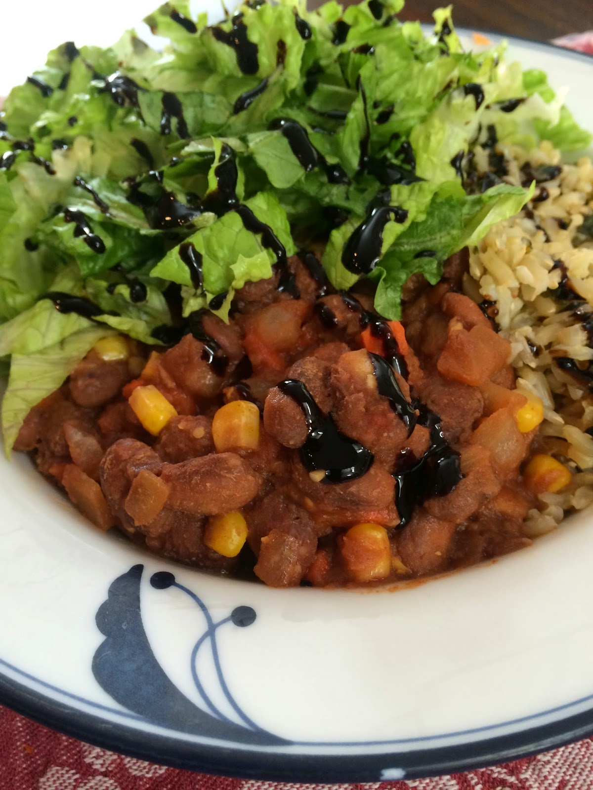 Food Garden Recipes: Vegetarian Pinto Beans and Brown Rice