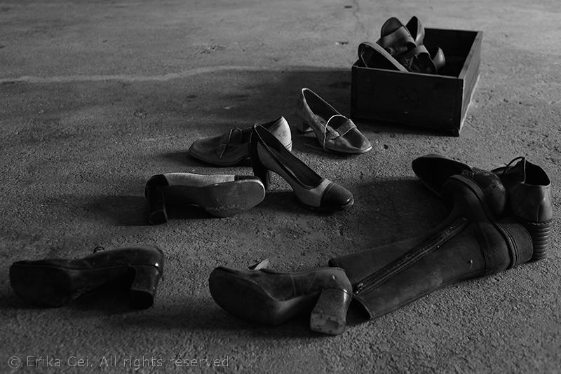 Trieste Porto Vecchio scarpe magazzino 19