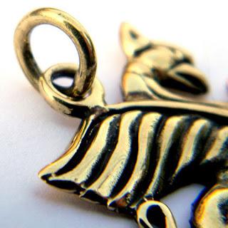 купить кулон грифон металл бронза украина украшения