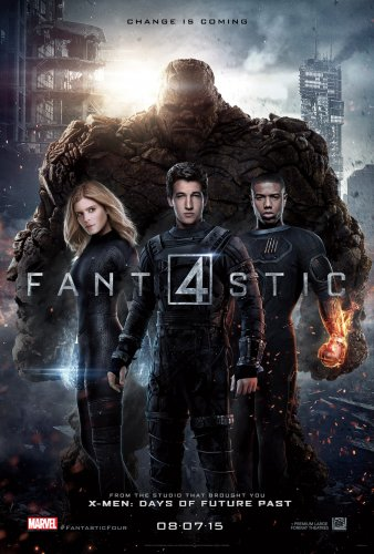 Fantastic Four (BRRip 720p Ingles Subtitulada) (2015)