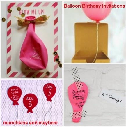 Balloon party invitation balloon themed birthday party munchkins balloon party invitation balloon themed birthday party filmwisefo