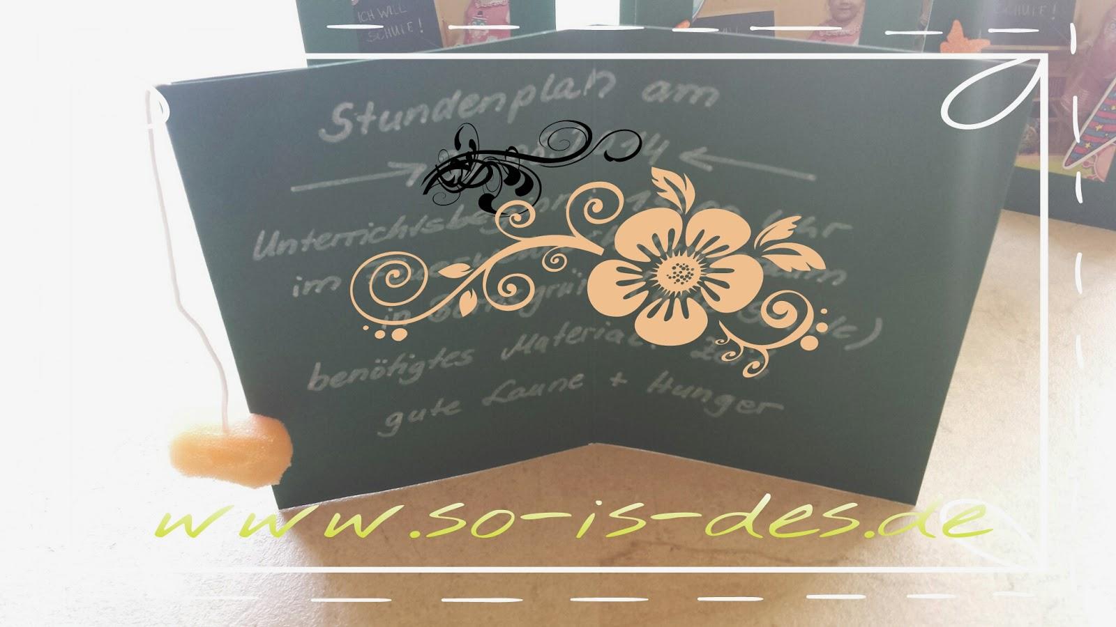 Einladungskarte Zur Einschulung Basteln