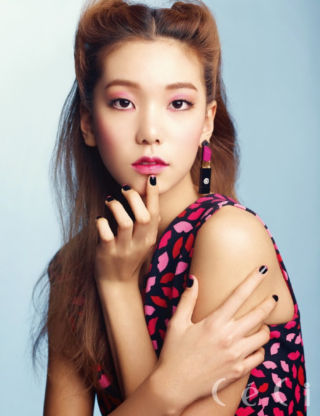 Lee Ho Jung - Ceci Magazine April Issue 2014