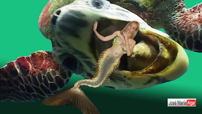 Sirenas reales encontradas vivas
