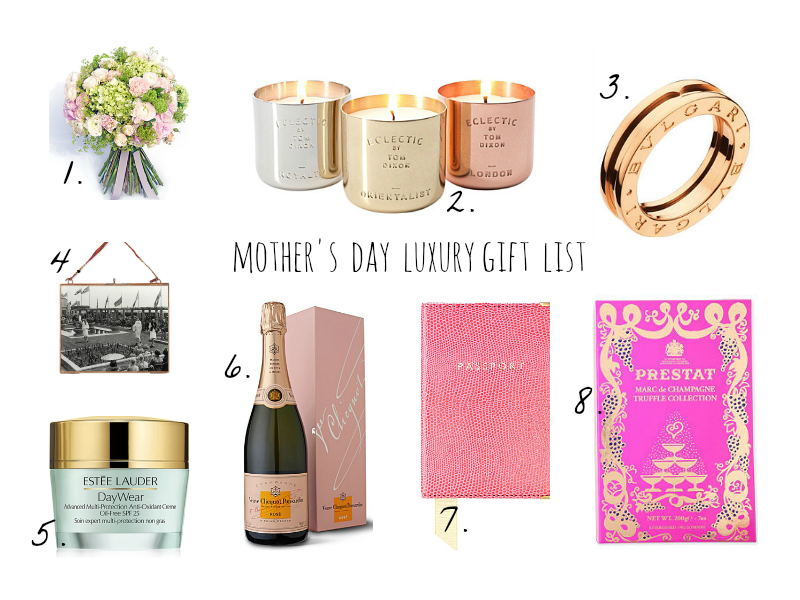 Selfridges Mother day luxury Gift List