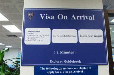 Negara dengan Visa On Arrival (VOA) untuk WNI orang indonesia