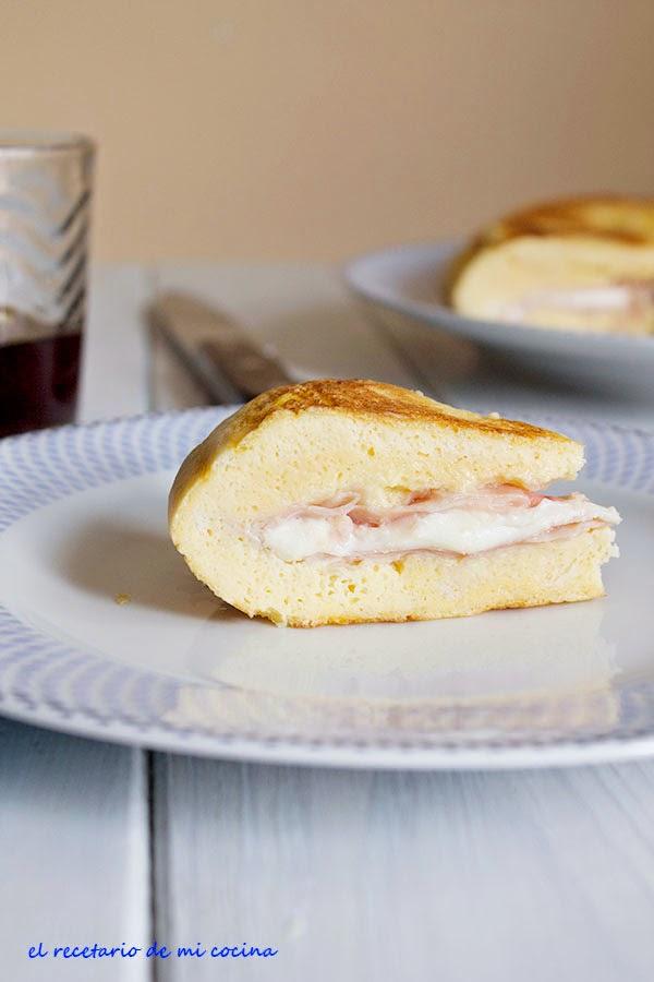 Sandwichon de jamón y queso