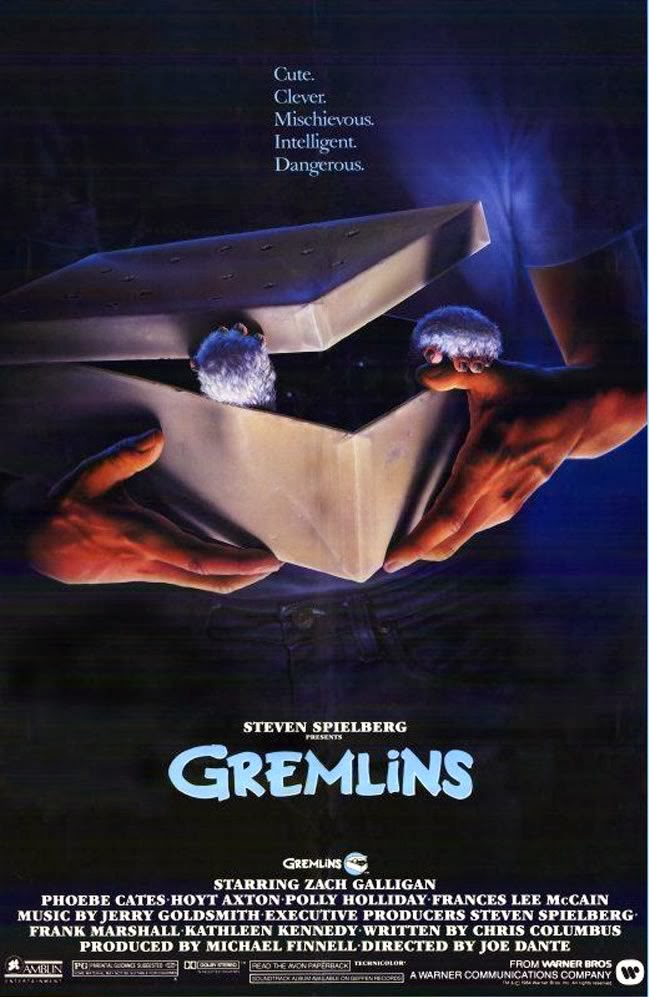"Cartaz do filme ""Os Gremlins"" de 1984"