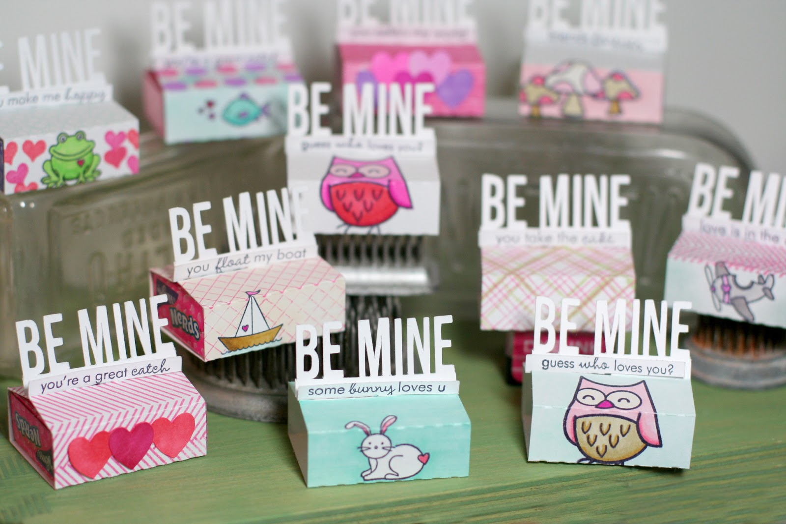 Notable nest valentine treat boxes for kids - Valentines day boxes for kids ...