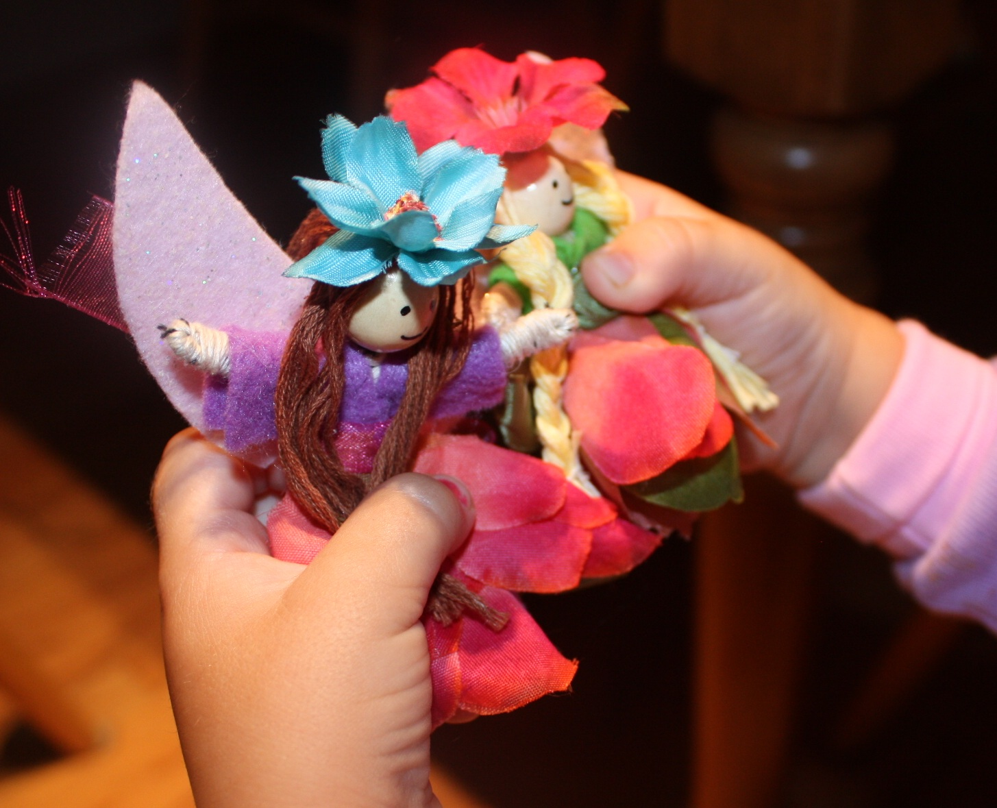 Boston baby mama get crafty pipe cleaner fairies there are 2 things that i always have on hand one is pretty scrapbook paper and the other is silk flowers silk flowers are great for craft projects in mightylinksfo