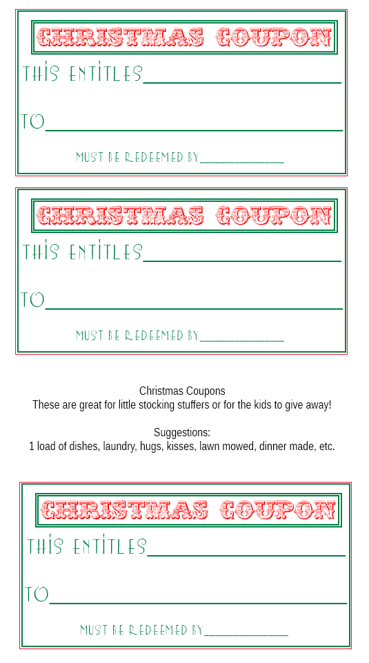 Sweetly Scrapped Free printable christmas tags and mini cards – Printable Coupon Templates Free