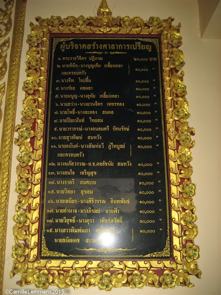 New Sermon Hall at Wat Plai Laem has been opened
