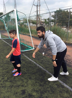 προπονητής και παίκτης του παιδικού